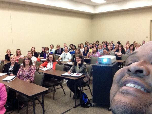 The very first in-session selfie. Brought to you by me and the great folks of #okhr #pichr #shrm http://t.co/MLsNcyJpup