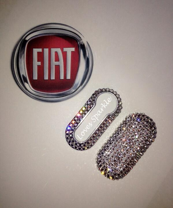 Loves Sparkle On Twitter Our New Swarovski Fiat 500 Key Covers Can