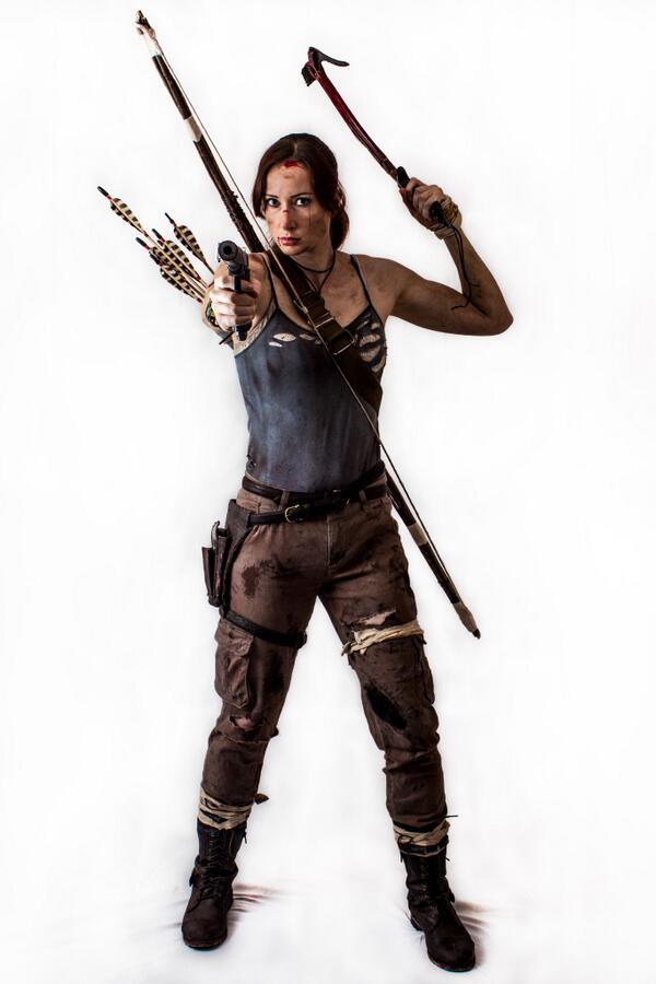 Shona Johnson On Twitter Lara Croft Tomb Raider 2013