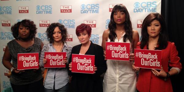 #BringBackOurGirls @JulieChen @aishatyler @MrsSOsbourne @THEsaragilbert @sherylunderwood http://t.co/qJKGdtWoyx