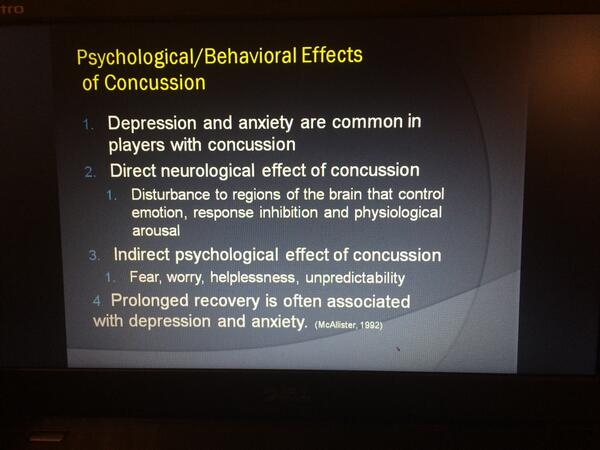 Psychological issues #SarahJaneBrain #Treat @SportsNeuroSoc Ruben #Echemendia http://t.co/0PD1upkqVd