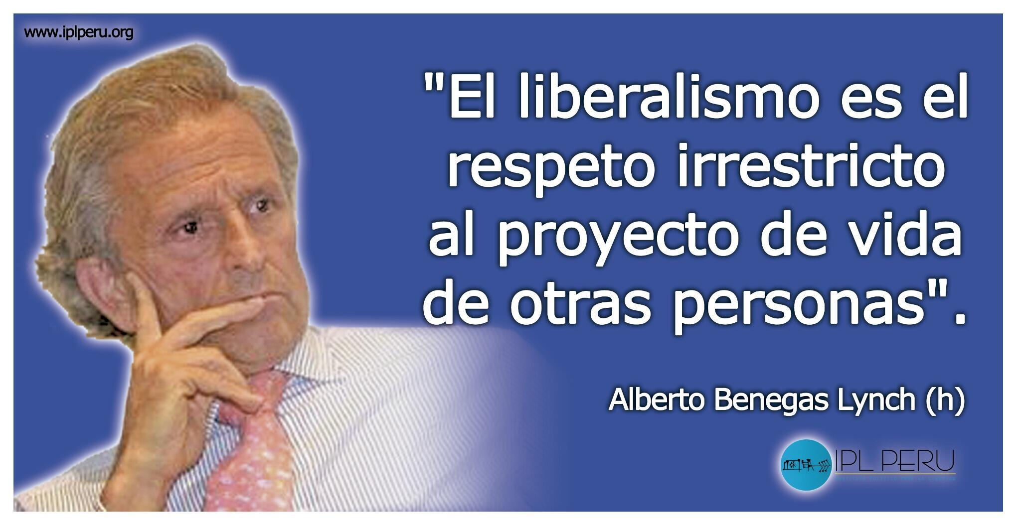 "IPL Libertad sur Twitter : ""Frases del economista y escritor argentino.  Alberto Benegas Lynch @iplperu @CEDICE @cam_lib http://t.co/NNSmqTOmiG"""