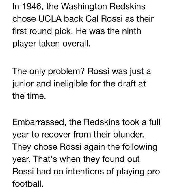 @dcsportsbog RT @EnglishJason: My favorite NFL Draft story, courtesy of @budshaw... http://t.co/gERLoR9h8r