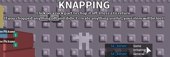 Knapping BnMAANICYAAsHJu