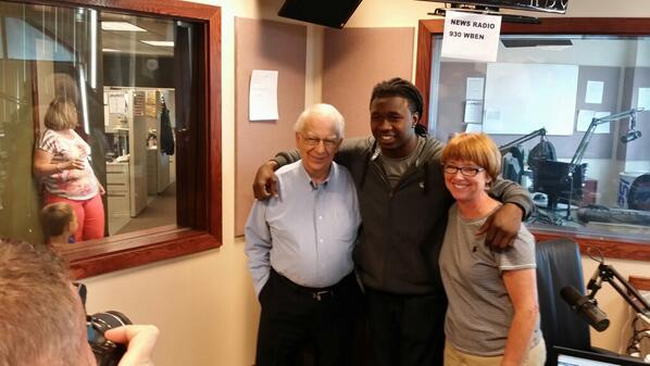 Just finished my first radio interview in Buffalo!  #BillsMafia http://t.co/BeyCjc4blC