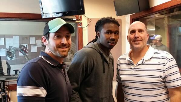 Thanks to Jeremy and Howard from @WGR550 for having me on!  #BillsMafia #blessed http://t.co/wvfX0jXeD1