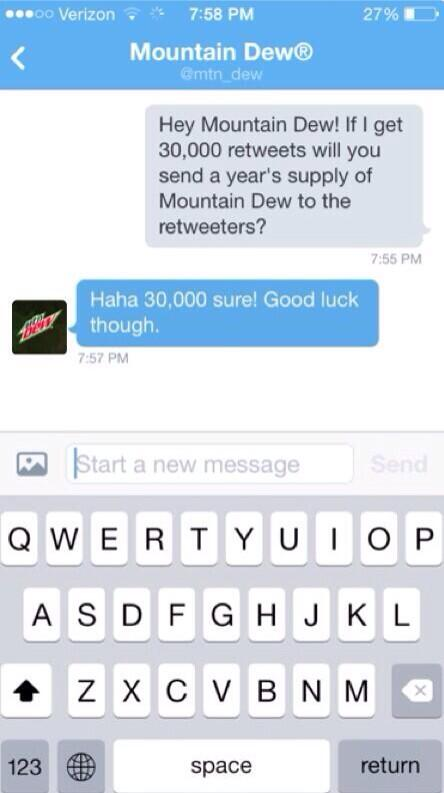 THEY REPLIED!!! RT!!!