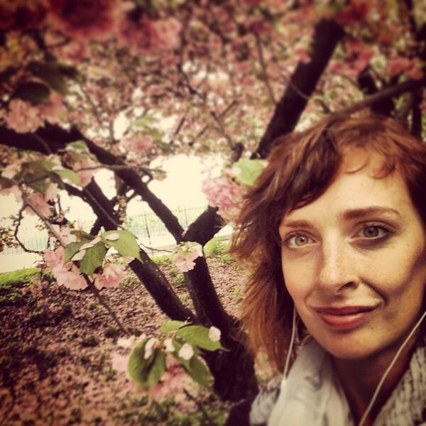 Obligatory Selfie Of Spring In NYC. Just A Short Break