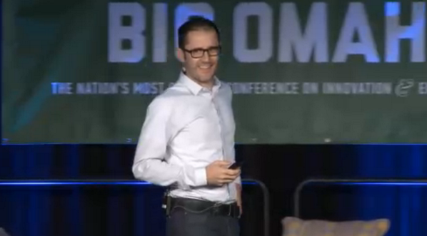 Hometown favorite @ev joins the #BigOmaha family on stage. http://t.co/bTivdc9UXj