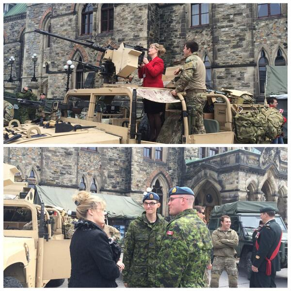 I'm attending the National Day of Honour Commemoration on Parliament Hill today.  #DayofHonour http://t.co/676GKjuhvu