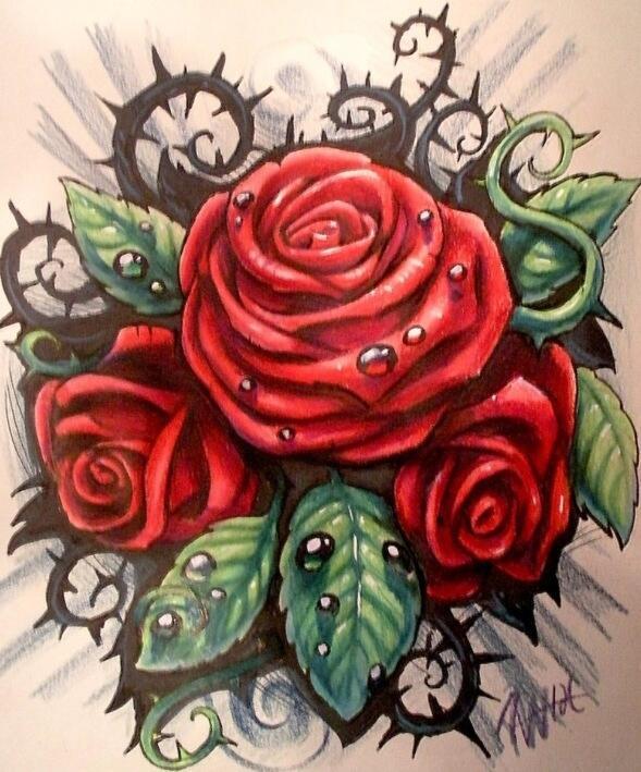 Plantillas Tatuajes On Twitter Plantilla Tatuaje Rosas Httptco