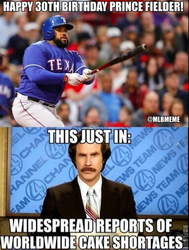 Mlb Memes On Twitter Happy 30th Birthday Prince Fielder Http