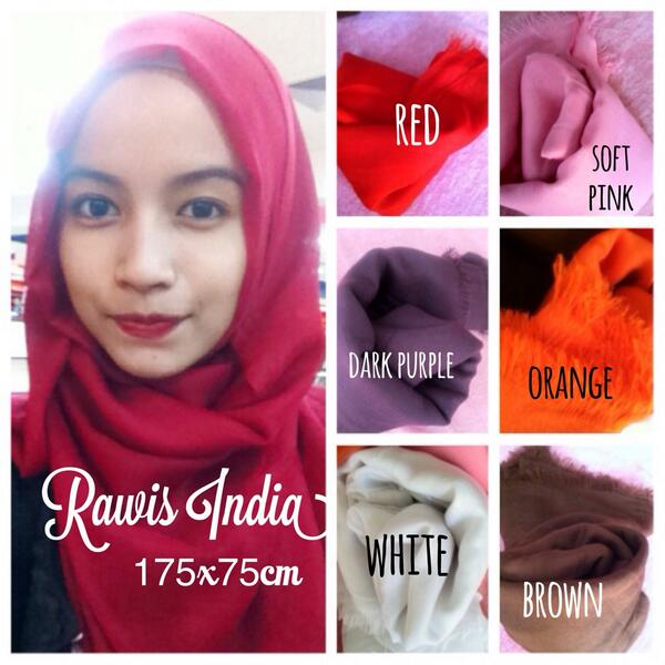 Twitter À¤ªà¤° Pusat Hijab Premium Pashmina Rawis India Bahan Polyester 35rb Pcs Atau 100rb 3pcs Order Bbm 23817f98 Line Hijaburban Http T Co Ty2oz8pllm