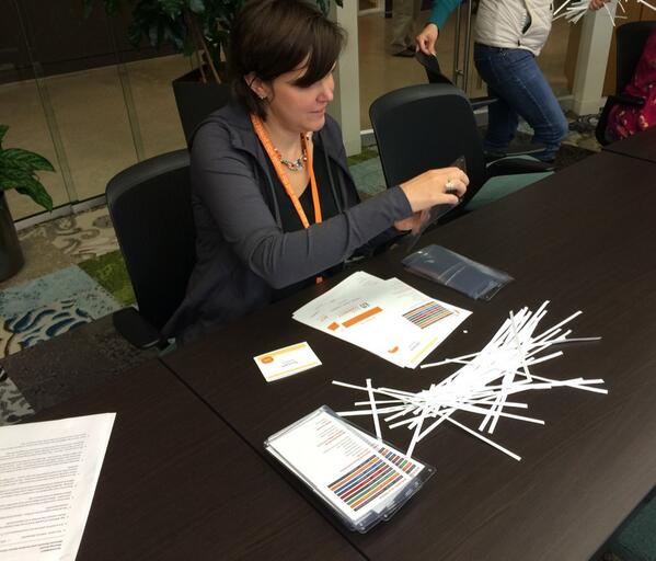 Team player, that @fordreedy. RT @BushFoundation: Those #bushCON badges don't just assemble themselves, you know. http://t.co/hRQvd0p37s""