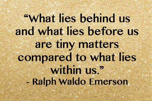 """What lies behind us and what lies before us are tiny matters compared to what lies within us."" http://t.co/wfQwR5yVkN"