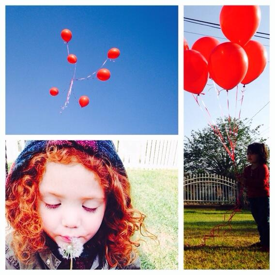 Today we sent Ryan his favorite #RedBallons enjoy them in paradise, sweet Angel #redballonsforryan http://t.co/tfs32FZRB2