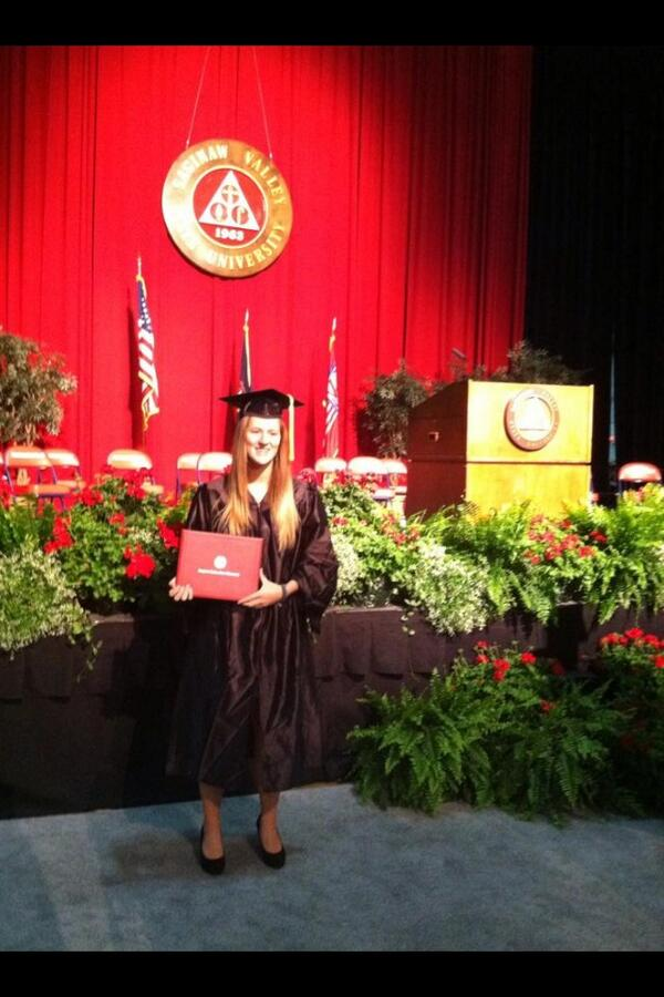 And it's official #graduate #SVSU #athletictraining http://t.co/TUVELr5lfm