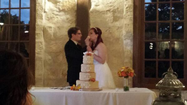 Congratulations to the awesome @AH_Michael & @LindsayTuggey http://t.co/YVT8cAID0J