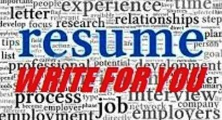 RESUME WRITE FOR YOU - https://t.co/o0NCsXeHew If u want 2 b at the top of a prospective employer's list. http://t.co/kZuiCRSWaT