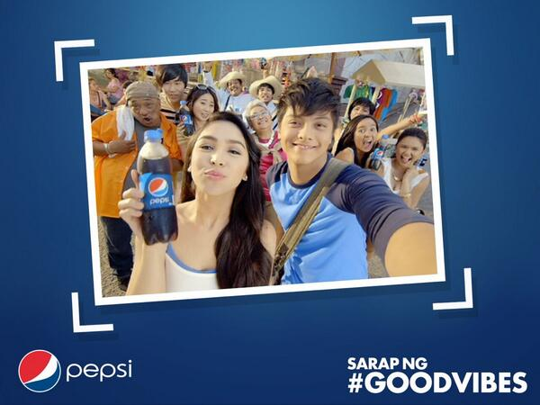 #DanielPadillaPepsiGoodVibes #JuliaBarrettoPEPSIGoodVibes congratulations to everyone!!! Thank you very much