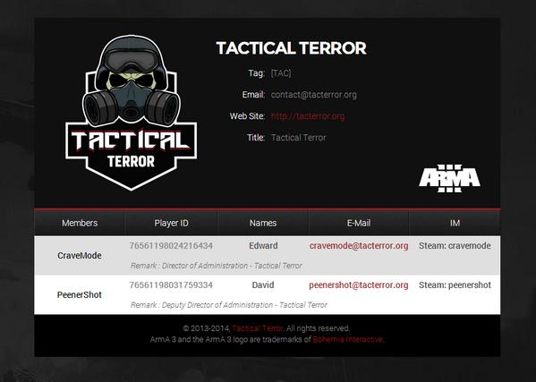 Tactical Terror (@TacticalTerror) | Twitter