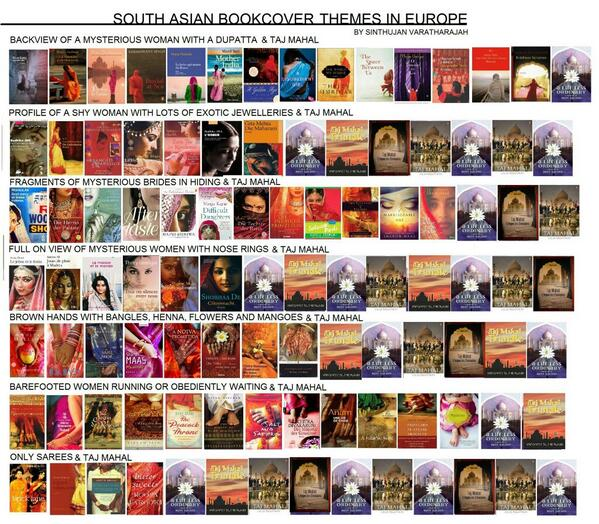 SOUTH ASIAN BOOK COVER THEMES IN EUROPE. Brilliantly done by @varathas http://t.co/iKRjTwpCjh
