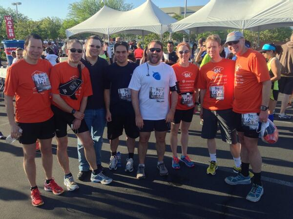 benmarks: #MageRun is on at the #LasVegas5k #MagentoImagine http://t.co/CcEwCPmzCR