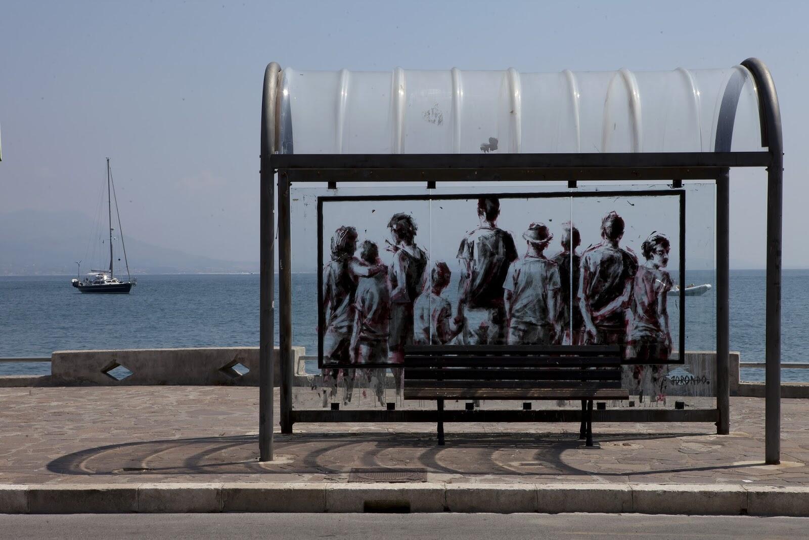 İspanyol sokak sanatçısı Borondo'nun çeşitli ülkelerden işleri bugün Web Galeri'de.  http://t.co/riDeOZUB4O http://t.co/3Gp482HnPa