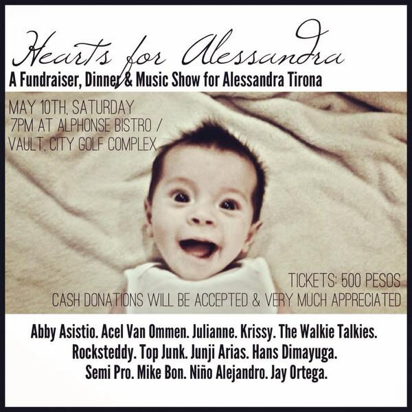 If you aren't doing anything tonight, please make your way down to save this little angel or spread the word