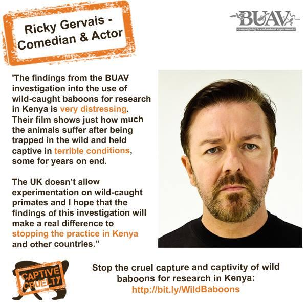 Thanks to @RickyGervais for speaking out and supporting our #captivecruelty campaign http://t.co/aFrUpcIPQT http://t.co/M5tvmZsFIx