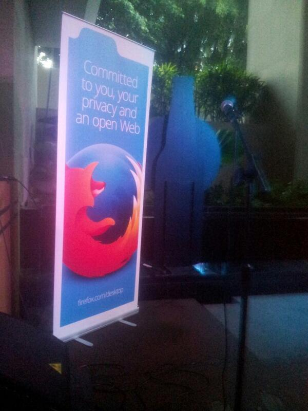 It is about to start! #FirefoxKita http://t.co/ob6P3ncOqC
