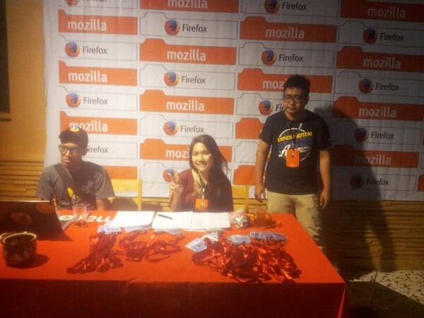 Registration is now open at #FirefoxKita Launch Party! :D http://t.co/NxHF2xtmRE
