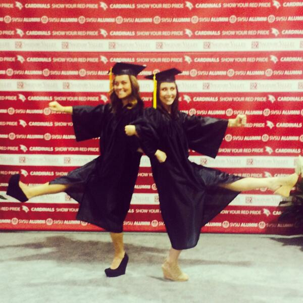Congratulations to all of our clients who graduated from SVSU! Especially these two, your PB teachers Megan and Sam! http://t.co/ZxHjXL72Px