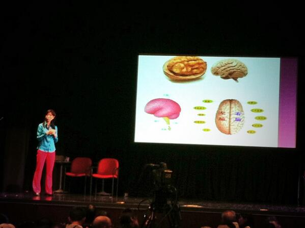 Xiaoyan Hu discussing mental activity and brain anatomy to our Mandarin-speaking audience at Staying Sharp Flushing http://t.co/g2ZZww0Ugo
