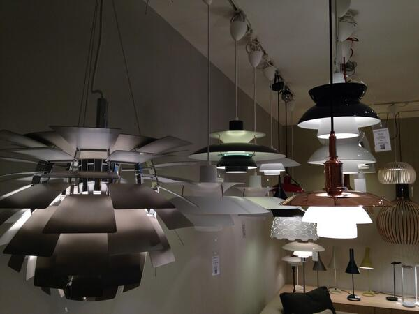 Seeing the light @skandium_com Marylebone Interiors Day #MID2014 http://t.co/vcrbUId4LO