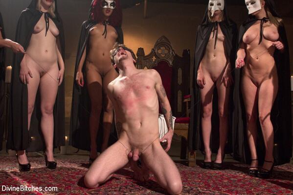 orgy ritual long black dick fucking