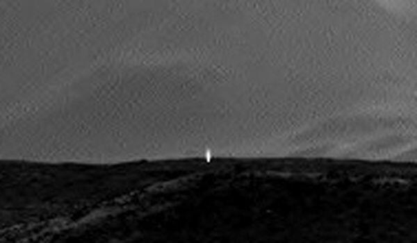 Foto NASA Marte con misteriosa luce proveniente dal sottosuolo