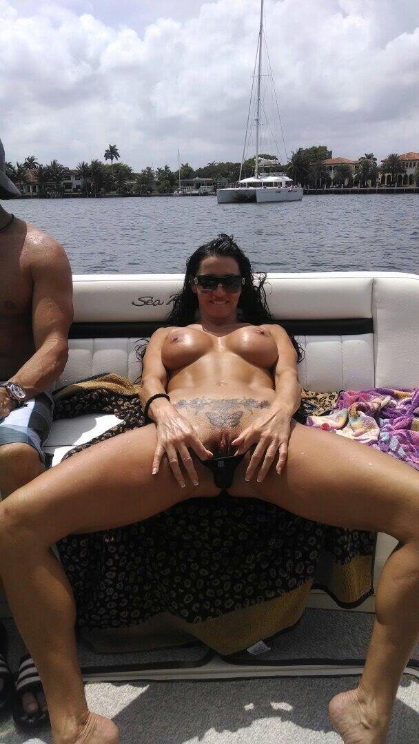 Naked Boating Photos 51