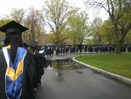 Put one foot in front of the other and soon you'll be walking across the stage #classof2014 @emmanuelcollege http://t.co/BW4HSf1OWM