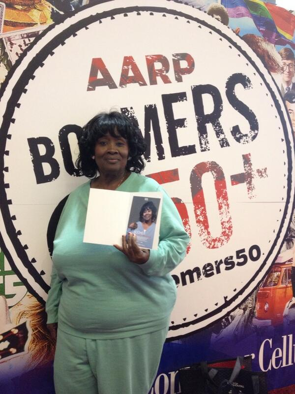 .@AARP member Debra loved the #BOOMERS50 exhibit so much she came 2 days in a row for portraits! #Lifeat50 http://t.co/DitMfG3eMp