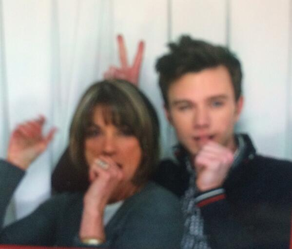 Meet my gorgeous son, Tony! @chriscolfer happy Mother's Day... http://t.co/6swzOCyNBG