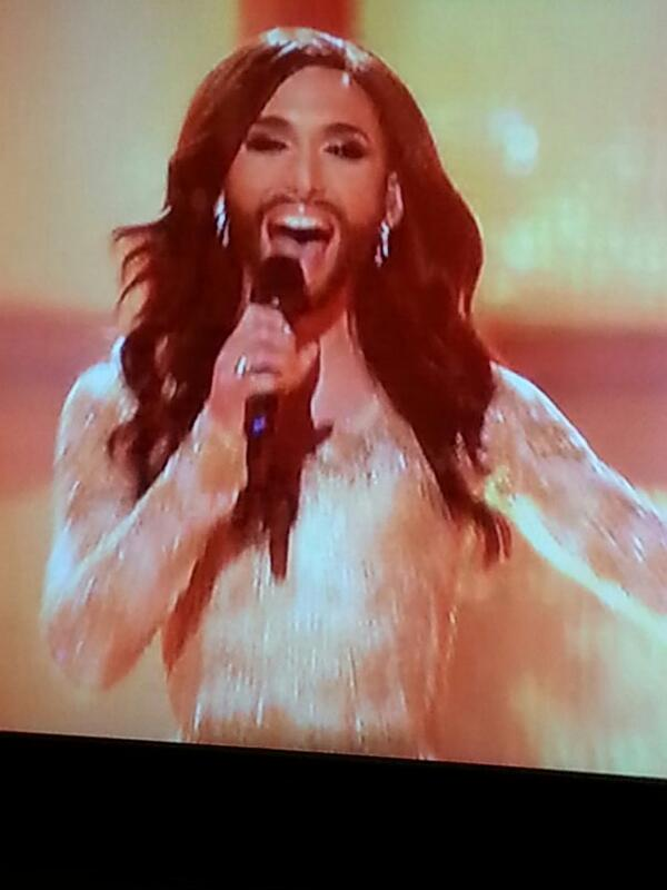 The lovechild of Russell Brand and Cheryl Cole http://t.co/rnEKJuJVvP I'm sure lovechild of Simon Cowell and Walliams is coming #Eurovision