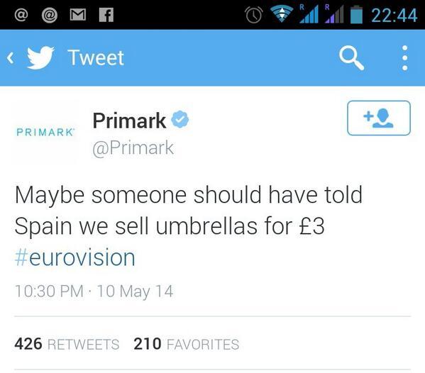 Que bueno sí señor... RT @rafamerino: Muy oportunos los de Primark xD http://t.co/hb6xqPZRkp