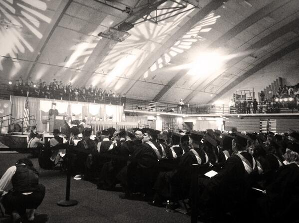 Commencement is underway, what a great day to honor our #SMUGrads2014 ! http://t.co/3u2rjGQZGu