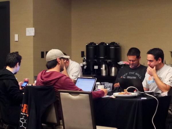benmarks: #MagentoImagine Hackathon team 'Make-Kalens-SQL-Based-Reports-Module-More-Awesomer' http://t.co/B7FqvU2f1g