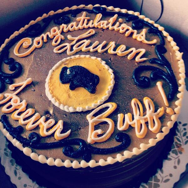 The last festivity. #ForeverBuffs http://t.co/ELwNn45gwv