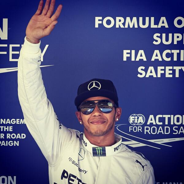 Lewis Hamilton [via @LewisHamilton]