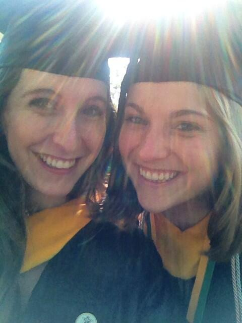 Best friends at #wmgrad http://t.co/6b6Ws0CrSJ