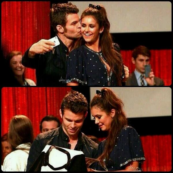 daniel gillies fanfiction and nina dobrev on pinterest