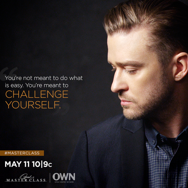 .@JTimberlake is kicking off a new season of #MasterClass. RT if you're ready to see him like you never have before! http://t.co/gIWRwdvzbt